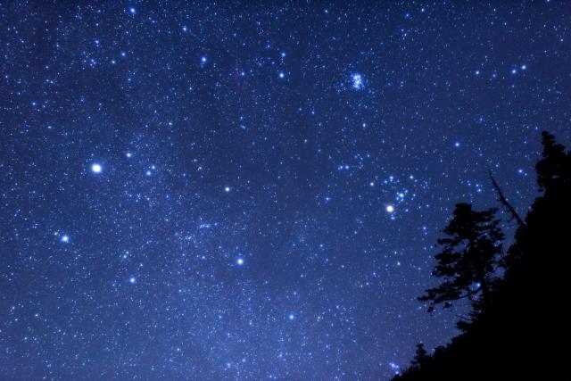星空 キャンプ